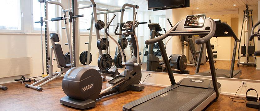Hotel Silberhorn, Wengen, Bernese Oberland, Switzerland - gym.jpg